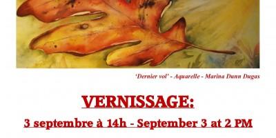 Affiche - Exposition 3 septembre 2016